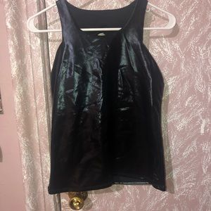 Electric Yoga Leather Top